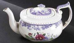 Spode Mayflower Lavender Teapot 683307   eBay $400.00
