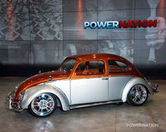 Classic VW Custom - the correct way to do a two tone Bug