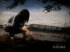 Perro girl fiel compañero naturaleza country