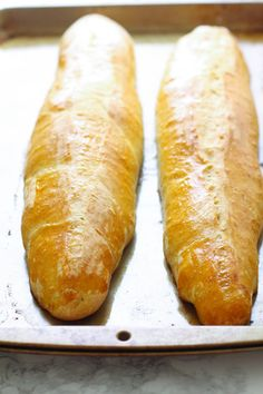 Homemade French Bread | Bread Machine Recipe | French Bread Recipe | Homemade Bread | Homemade Sub Rolls