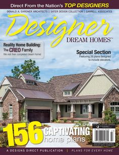 Look who's on the cover of the Fall issue of Designer Dream Homes! See what's featured in this #magazine, and where to find it on our #House #Plans #Blog http://houseplansblog.dongardner.com/designer-dream-homes-fall-2014/
