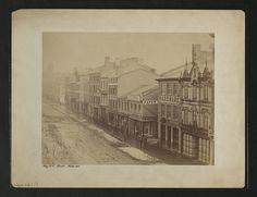 King St. E., Winter 1856 National Archives, Us Images, Toronto, King, Places, Winter, Pictures, Winter Time, Photos