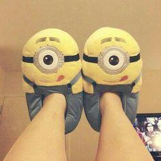 Pantoufles  Minions ! =)