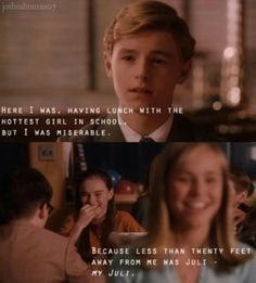 Flipped... such a cute movie and an even better book!