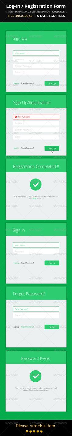 Flat Modal Login \ Registration Form Registration form, Fonts - registration form