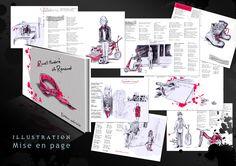 """Création du projet de livre """"R'ceuil of renaud"""" - Illustration et mise en page"""