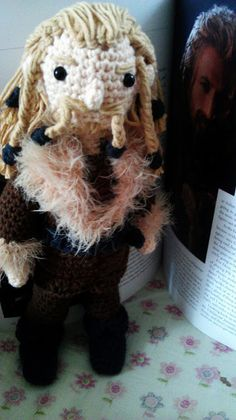 CROCHET - HOBBIT - LORD OF THE RINGS - LOTR - The Hobbit- Fili amigurumi