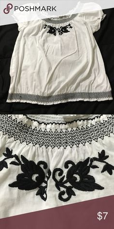 Very fresh Blouse Used a couple of times yet in great condition. Haven't used it an a while. Just needs a new home. Tops Blouses