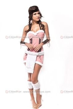 Sexy Indian Maiden Native American Girl Look Halter Costume - Plus Size Lingerie - Intimate Apparel Find American Apparel Lingerie and more via www.AmericasMall.com/categories/lingerie-underwear.html