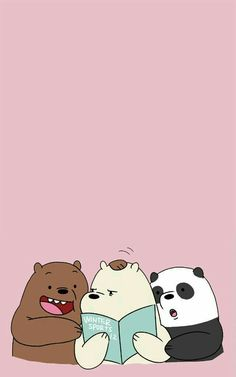 Pin By Nicole Andrea Gene Durante On We Bare Bears Phone Mobile Wallpaper, Panda Panpan Polar Bear Ice Bear Grizzly Bear -- -- pin We Bare Bears Wallpapers, Panda Wallpapers, Cute Cartoon Wallpapers, Iphone Wallpapers, Ice Bear We Bare Bears, We Bear, Bts Art, Bear Wallpaper, Mobile Wallpaper