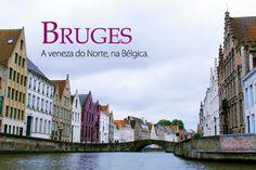 Bruges, na Bélgica, é conhecida como a Veneza do Norte. Eleita capital da cultura em 2002 é famosa também pela produção de chocolate. Clique e saiba mais sobre esse destino encantador da província de Flandres Ocidental, na região de Flandres, Europa.
