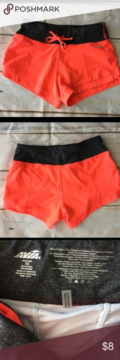 Avia Running Shorts Great condition bright running shorts with inside pouch. Avia Shorts