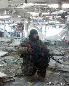 Cyborg Nick on Donetsk Airport | Voices of Ukraine