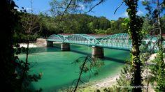 Ponte río Sor. Entre Vicedo (Lugo) e Barqueiro (Coruña).