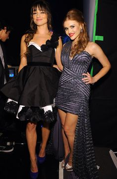 Crystal Reed and Holland Roden