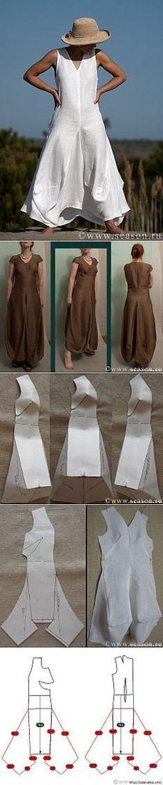 Платье в стиле бохо с подробным мастер-классом от www.season.ru | style