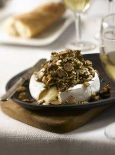 Baked Mushroom-Topped Brie « Fresh Mushrooms