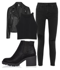 """""""Untitled #45"""" by exc4libur on Polyvore featuring Madewell, Topshop and River Island"""