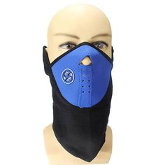 Blue Color Motorcycle Cycling Biker Ski Snowboard Neck Face Mask  Worldwide delivery. Original best quality product for 70% of it's real price. Buying this product is extra profitable, because we have good production source. 1 day products dispatch from warehouse. Fast & reliable...