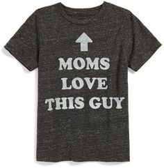 Mighty Fine 'Moms Love This Guy' T-Shirt (Little Boys)