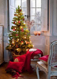 Adornos ecológicos para el árbol de Navidad
