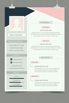 Cv Resume Template, Resume Design Template, Free Cv Template, Design Social, Web Design, Portfolio Resume, Portfolio Web, It Cv, Cv Inspiration