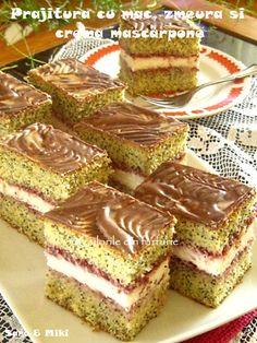 Mac, Romanian Desserts, Those Recipe, Tiramisu, Sweet Treats, Caramel, Cheesecake, Deserts, Food And Drink