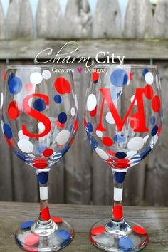 Personalized Wine Glass 20 oz wedding bridal birthday party friend by ahindle78 on Etsy https://www.etsy.com/listing/109152971/personalized-wine-glass-20-oz-wedding