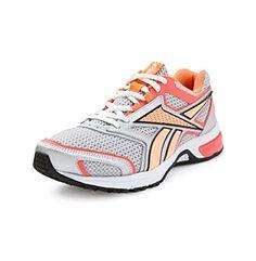 """Reebok® Women's Silver/Orange Running Shoe - """"Southrange"""" at www.bostonstore.com"""