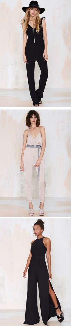 Inject some glamour into your wardrobe with effortlessly-cool jumpsuits @nastygal
