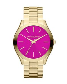 Michael Kors Golden/Pink Watch