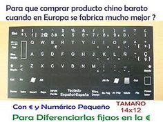 a imagen digital pegatinas teclado espanol 14x12 spanish keyboard sticker portatil