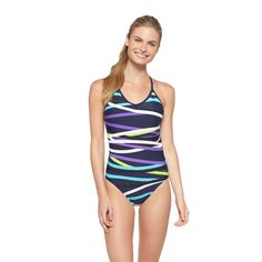 ee5a4ee56eb03 Cute Colors Women's One Piece Swimsuits, Women Swimsuits, Modest Swimsuits,  C9 Champion,