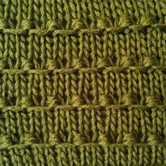 Tiny Bobbles Stitch - Purl Avenue