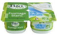 Fromage blanc bio nature 0% Bio nat'