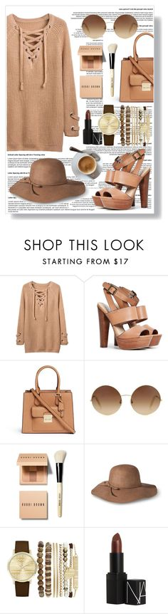 """""""Untitled #78"""" by lanabaloley ❤ liked on Polyvore featuring Steve Madden, Michael Kors, Victoria Beckham, Bobbi Brown Cosmetics, Mossimo, Jessica Carlyle and NARS Cosmetics"""