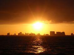 szép képek naplemente
