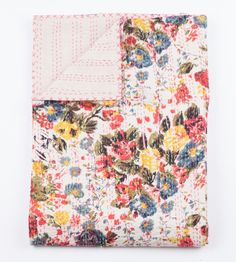 Queen Blanket in Floral Perfection - GYPSYA