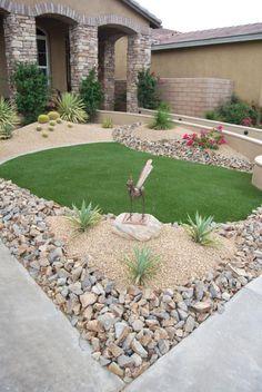 Gorgeous 55 Fabulous Front Yard Rock Garden Ideas Https://homeideas.co/