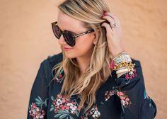 Karen Walker Tortoise Shell Sunglasses- Fancy Things