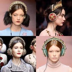 Dolce & Gabbana has made the most elaborate headphones to date in collaboration with Frends; and they can be yours for the staggering price of $7,000 (approx. £4,600). Previewed at the autumn/winter 2015 show during Milan Fashion Week they were inspired by the Italian matriarch, otherwise known as la mamma, celebrating Mother's Day a bit earlier this year. Made of leather and fully covered in the brand's signature jewellery, embellished with materials like pearls, gold chains, Swarovski…