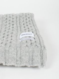 willhuntgoods:  NORSE PROJECTSWOOL CABLE SCARF    HTTP://LLYONSS.TUMBLR.COM