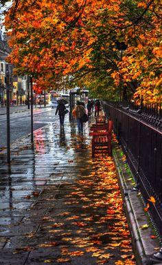 Edinburgh Travel, Girls Season, Autumn Scenes, Spooky Scary, City Streets, Pond, Britain, Natural Beauty, Scotland