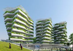 Vincent Callebaut's City of Science in Rome is turning a former military…