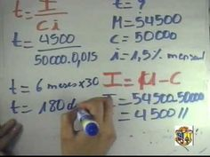 MATEMÁTICA FINANCIERA [(ADMINISTRACION) (I BIMESTRE) (OCTUBRE 2009 - FEBRERO 2010)] - YouTube