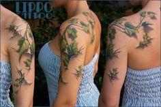 Efeu tattoo