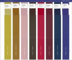 Colours - Trend Forecasts A/W 2016