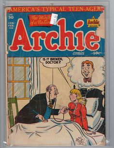 Archie Comics, Volume 1, Number 30, Jan. - Feb., 1948. I have this one