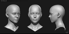 Jaina face by George Panfilov   Fan Art   3D   CGSociety