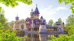 Prinsessia Castle. Plopsaland. Belgium